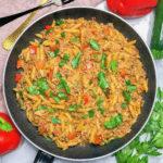 One Pot Pasta mit Tatar